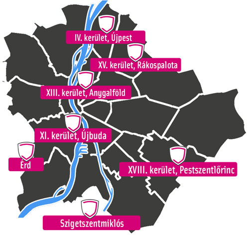 Budapesti Ablak térkép